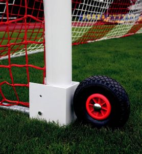 Set of transport wheels for a portable soccer goals 5x2 and 7,32 x 2,44