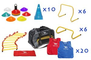 SUPER Set training aid bag, hurdles, ladder, cones