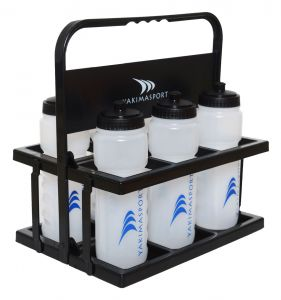 Water Bottle Carrier and 6 Water Bottles
