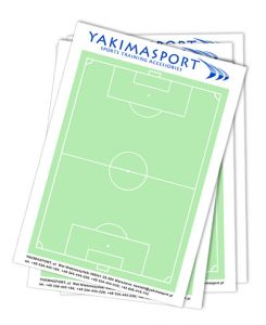 Coach Note Pad A4 - football pitch