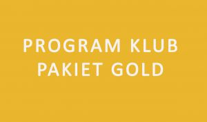 Program KLUB pakiet GOLD