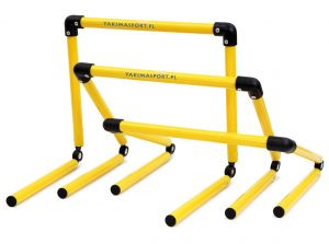 Hurdles with Adjustable Height Folding