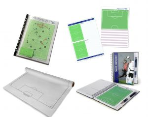Coach Set II - tactic board, notepad II