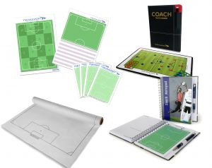 Coach Set I - tactic board, notepad