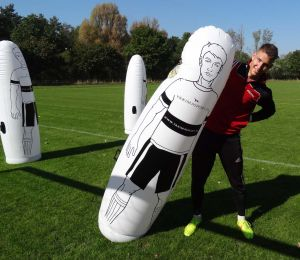 Inflatable Soccer Dummy