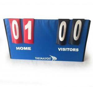 Portable 4 Digit Scoreboard, Sports Flip Score Board