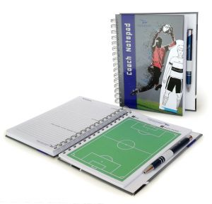 Coach Notepad A5