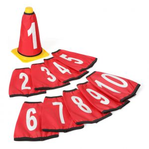 Numbers for Cones 10pcs